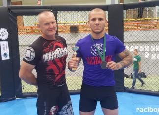 Zawodnik Berserkers Venganza Racibórz ze złotym medalem na turnieju MMA