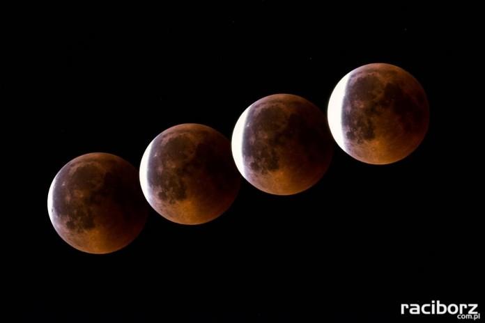 Pełne zaćmienie Księżyca lipiec 2018