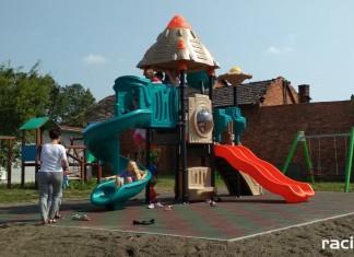 Otwarcie nowego placu zabaw w Rudyszwałdzie