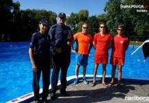 Racibórz: Patrole policji i ratownika WOPR