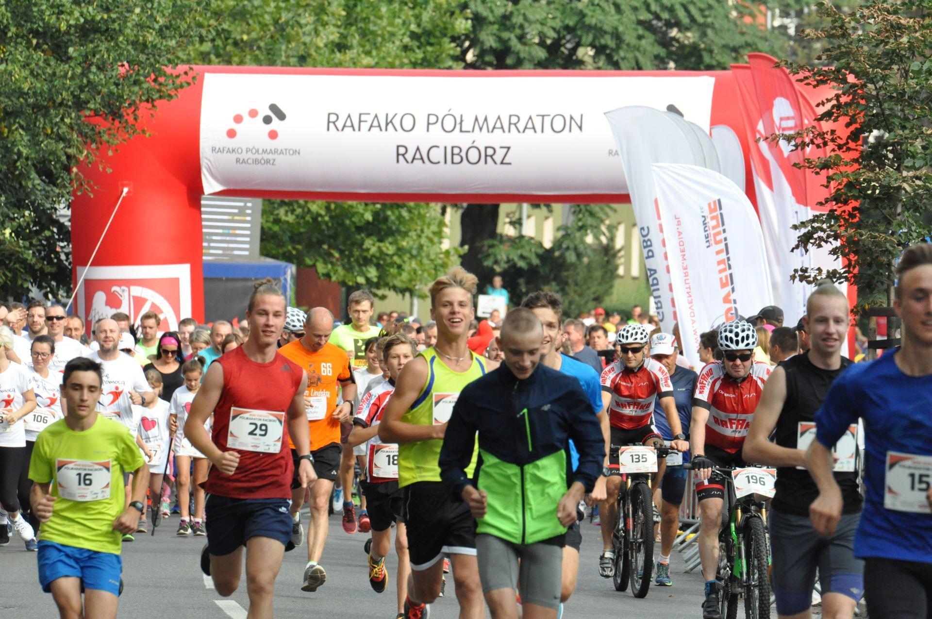 IV Mini RAFAKO Półmaraton Racibórz - trwają zapisy