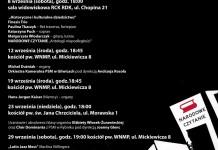 Dni muzyki organowej RCK 2018