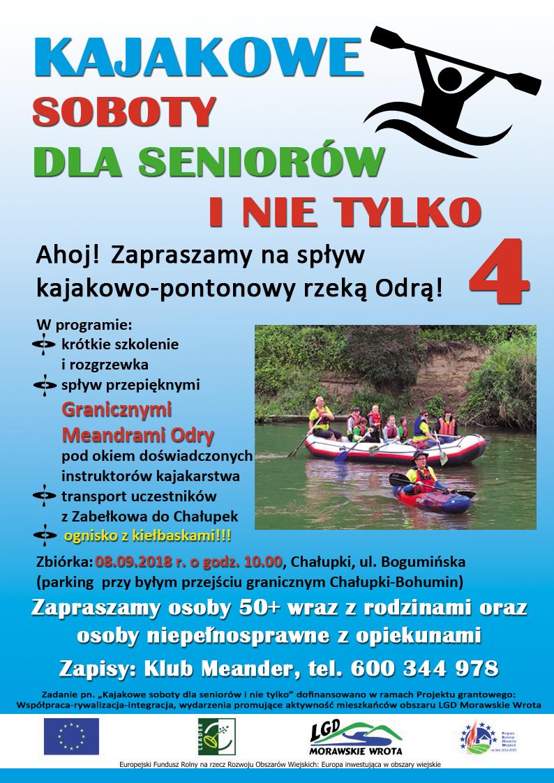 Spływ kajakowo-pontonowy Chałupki