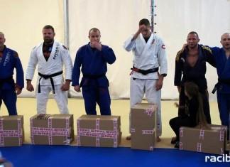 Piotr Kaszta uhonorowany czarnym pasem brazylijskiego jiu jitsu