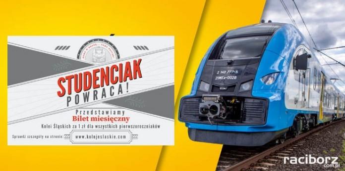 Koleje Śląskie - bilet za złotówkę dla studentów