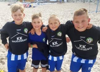 Najmłodsi piłkarze gminy na zgrupowaniu nad morzem