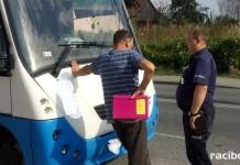 pijany prowadził autobus z dziećmi Kuźnia Raciborska Racibórz