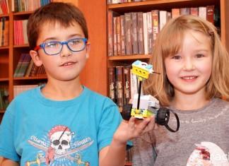 warsztaty Lego Biblioteka Ocice