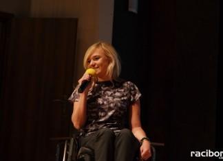 Angelika Chrapkiewicz-Gądek podcza ostatniego dnia festiwalu WIATRAKI