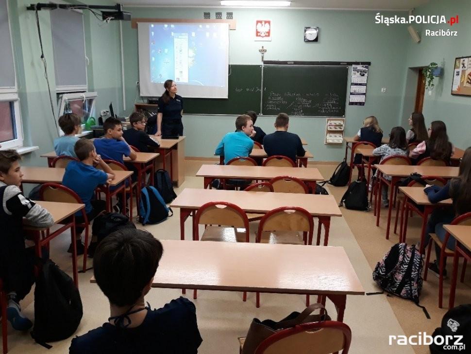 Spotkanie z policjantką w Kornowacu