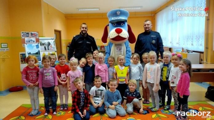 Spotkanie policja sp 18 Wodzisław
