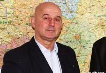 Wójt gminy Lyski Grzegorz Gryt
