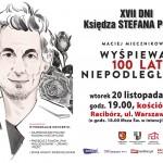 Rozdanie medali ks. Pieczki i koncert Macieja Miecznikowskiego