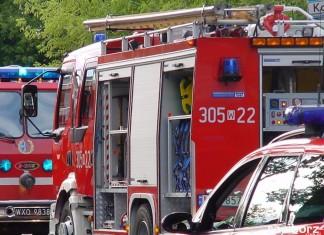 wyciek Chałupki straż pożarna