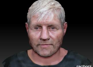 Identyfikacja mężczyzny Bierawa