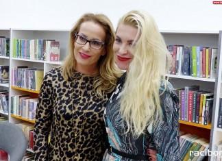 Katarzyna Bonda w raciborskiej bibliotece