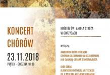 Koncert chóru w Gorzycach