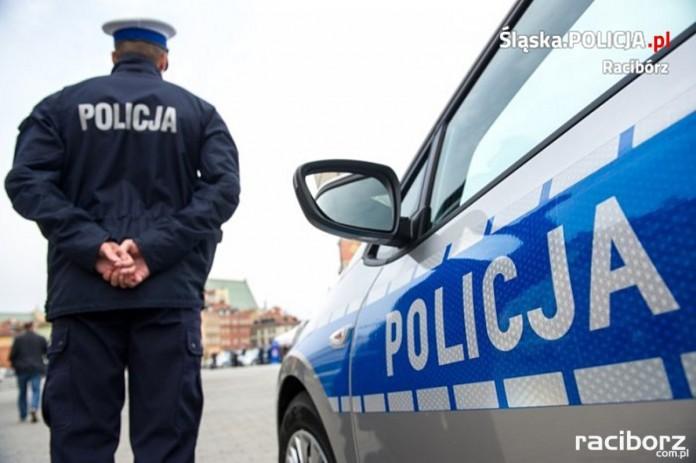 Bezpieczne skrzyżowanie policja