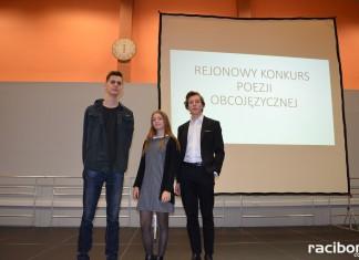 Uczniowie wodzisławskiej Jedynki na podium Rejonowego Konkursu Poezji Obcojęzycznej