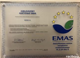RAFAKO z certyfikatem EMAS