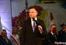 Prezydent Andrzej Duda w Raciborzu