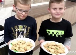 Wielkie pieczenie ciasteczek w Łańcach