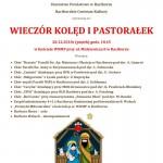 koncert koled pastoralek raciborz