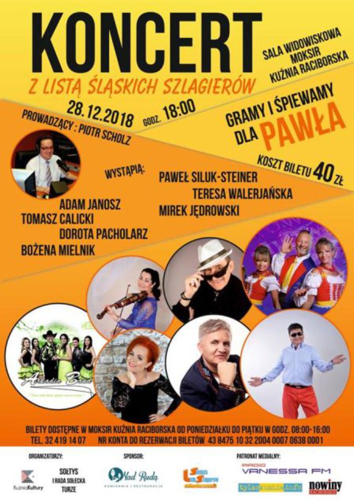 Koncert charytatywny w Kuźni Raciborskiej
