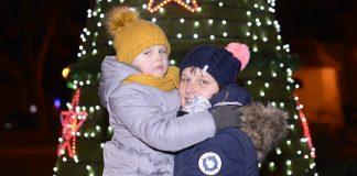 Rozświetlenie choinki na rynku w Krzanowicach