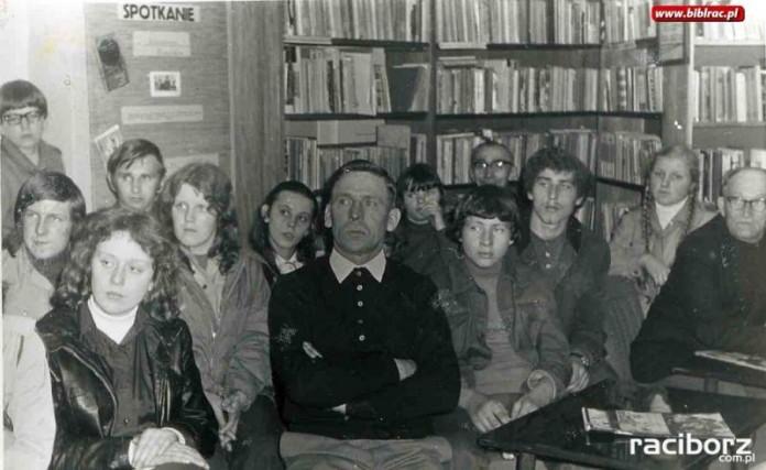 Spotkanie z Kazimierzem Kowalskim w bibliotece w Markowicach