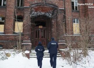 policja sprawdzala pustostany raciborz (1)