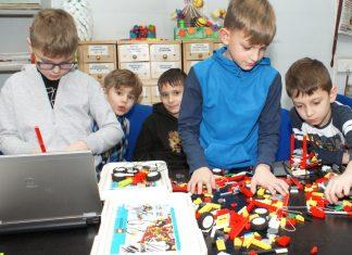 Warsztaty LEGO biblioteka