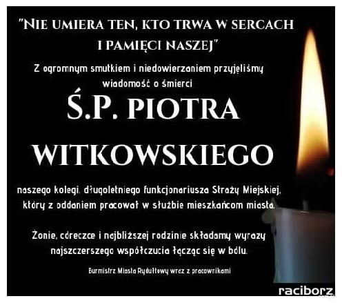 kondolencje rydultowy