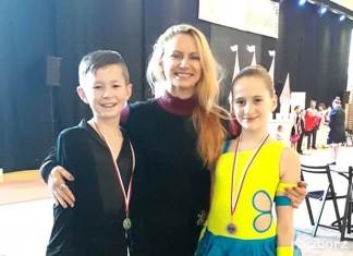 Srebrne medale tancerzy z raciborskiego MDK
