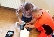 Defibrylator AED w Starostwie Powiatowym