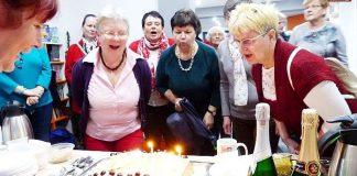 Klub Przyjaciół Biblioteki na Ostrogu świętował piąte urodziny