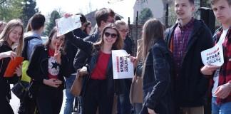 manifest strajk nauczycieli