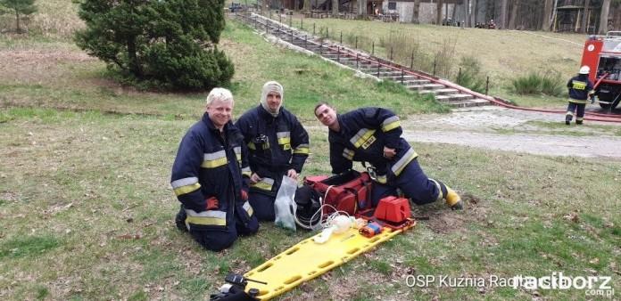 OSP Kuźnia Raciborska ćwiczenia