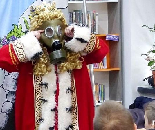 W bibliotece na Ostrogu straszył SmoG Wawelski