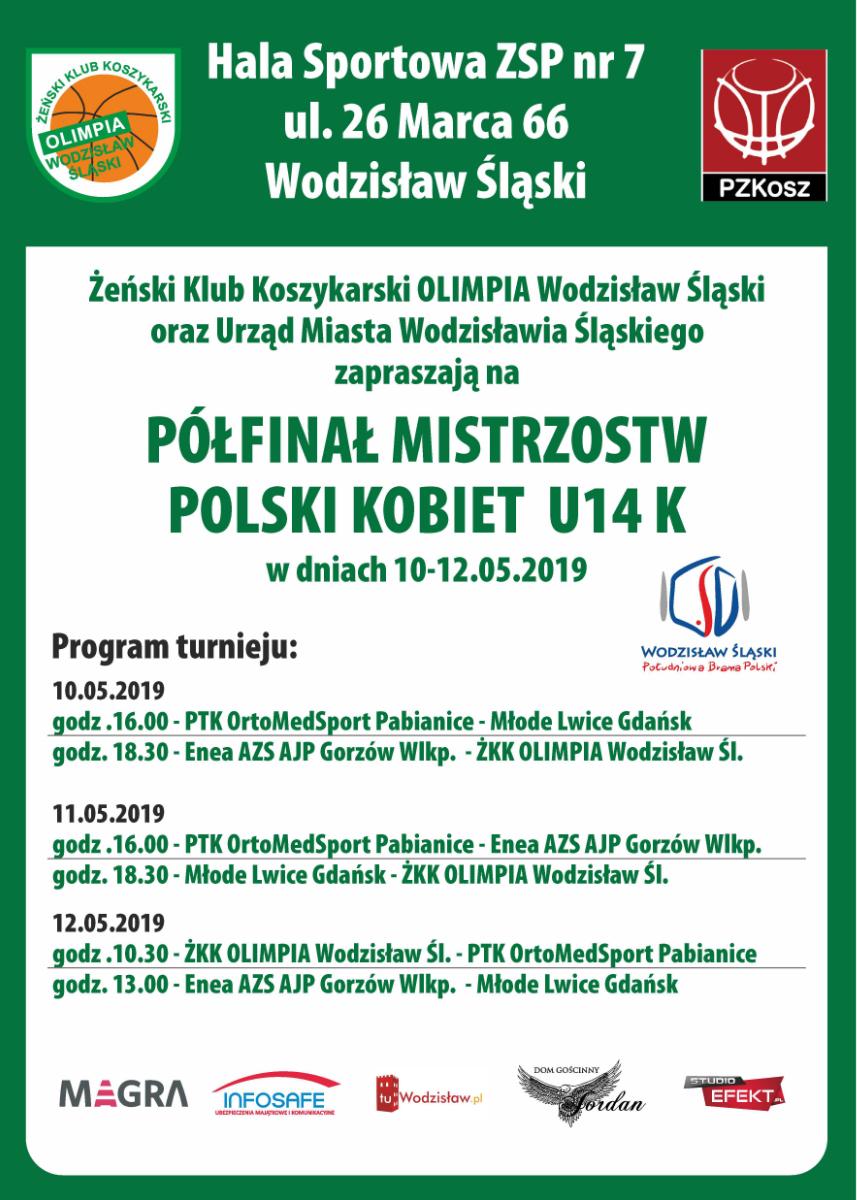 Półfinał koszykówka Wodzisław