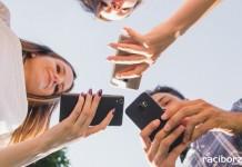 Smartfony nastolatki