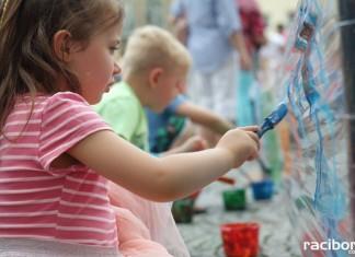 Dzień Dziecka na raciborskim rynku