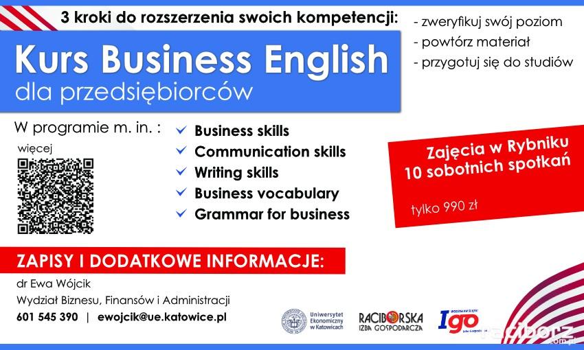 UE Katowice kurs angielskiego Rybnik
