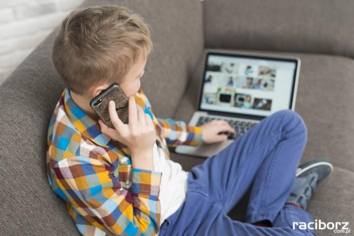 Dzieci nauka internet