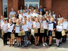 Spotkanie wójta gminy Kornowac z najlepszymi uczniami szkół