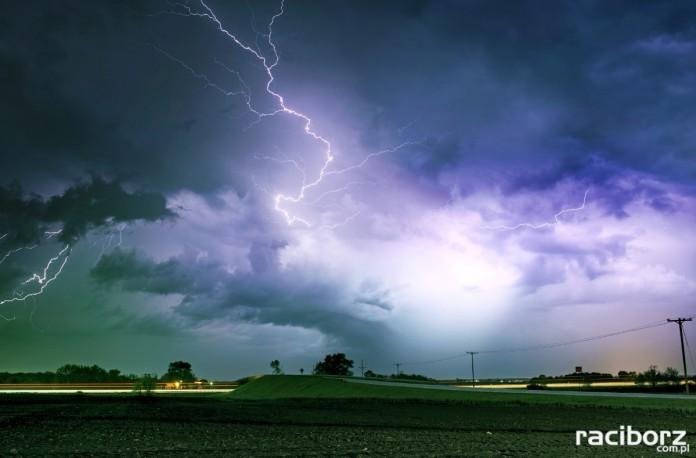 Burza ostrzeżenie meteorologiczne