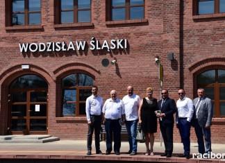 Oficjalne otwarcie dworca w Wodzisławiu Śląskim