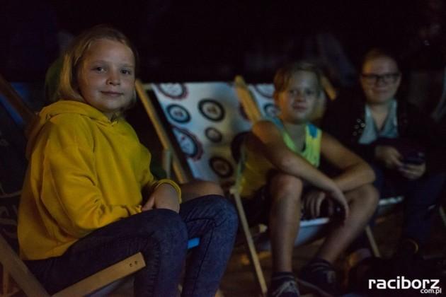 Kino z wiosłem w Parku im. Miasta Roth
