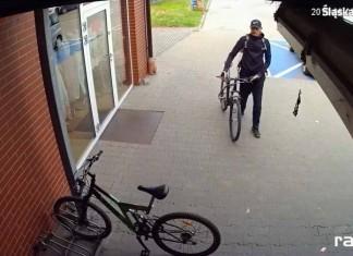 Policja szuka sprawcy kradzieży roweru Krzyżanowice