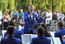Koncert letni w Parku Roth